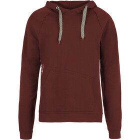 E9 Squart Fleece Hoody Men Wine